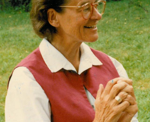 Liz White, RSCJ