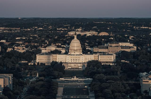 United States Capitol from top of the Washington Monument byAndy FeliciottionUnsplash